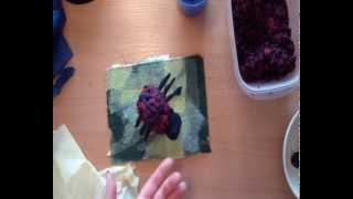 Урок лепки из папье-маше для детей от 2х лет