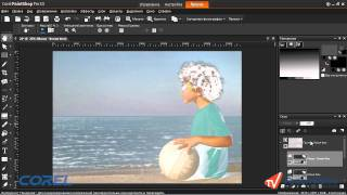 PaintShop Pro x4. Урок 24. Волшебство маски
