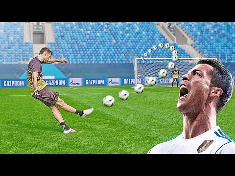 Epic Free Kicks in a FIFA Worl at t stadium