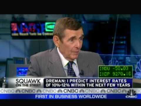 David Dreman On CNBC 8.05.09