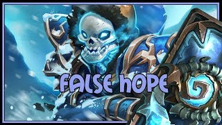 Hearthstone: False hope (kazakus mage)