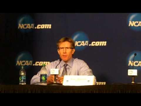 2015 NCAA UND Post Game Press Conference vs Quinnipiac