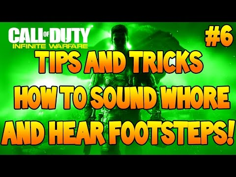 Infinite Warfare Tips And Tricks - How To Sound Whore (IW Tips And Tricks #6)