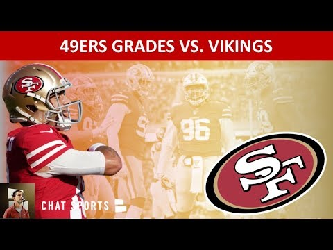 49ers Grades In 27-10 Win Over Minnesota Vikings To Advance To The NFC Title Game