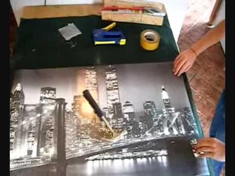 réalisation d'un cadre photo lumineux - youtube
