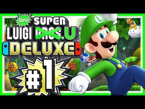 NEW SUPER LUIGI U DELUXE # 01 🌰 Luigis Großes Abenteuer! • Let's Play New Super Luigi U Deluxe