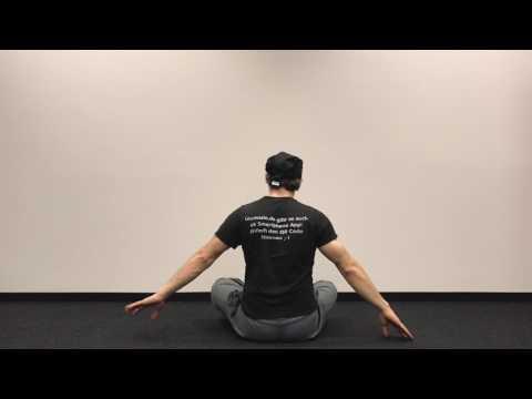 Laurenzio Yoga Frankfurt - Yoga Übungen für die Schulter - Neu bei Youtube in Deutsch.