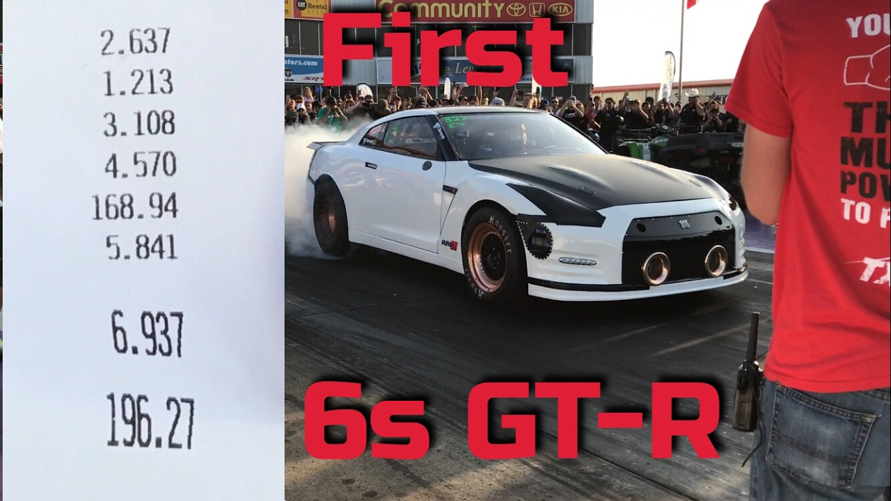 Nissan Gtr Alpha G First To Run 6s In The 1 4 Mile