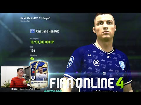 FIFA ONLINE 4: I Love Trải Nghiệm Man Utd KHỦNG, Mở Thẻ Săn ICON 21TOTY & Xây Team MAX BING Nhất