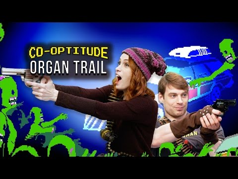 Ryon and Felicia Day take all their skills learned on an Apple II in elementary school to fight off zombies in Organ Trail, on this week