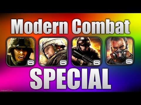 Modern Combat - SPECIAL! (MC1, MC2, MC3, MC4)