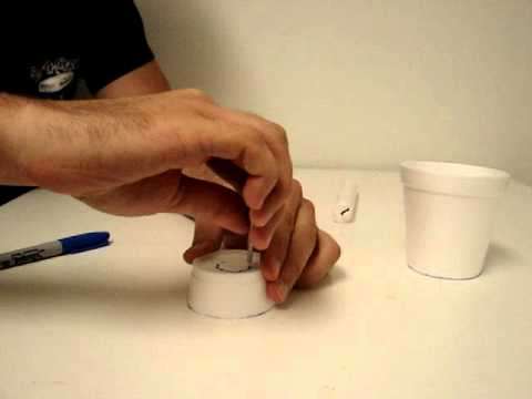 diy candle wax catcher. Candlestick holder  YouTube