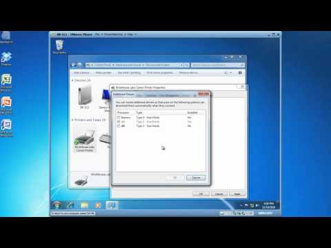 Share a Windows 7 Printer