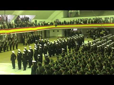 Jura de bandera de la Escuela Naval