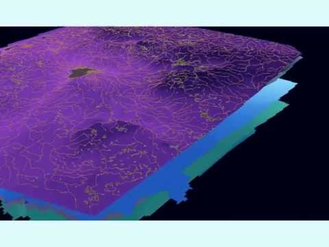 3D geological structure visualization