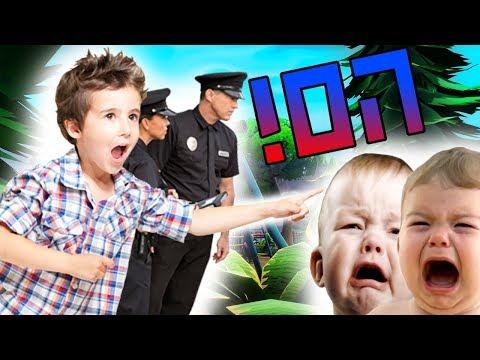 הילד הלשין עלינו!! - ילדים ישראלים בפורטנייט - (קורע מצחוק)