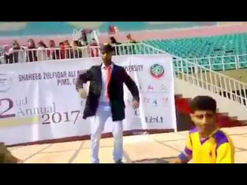 Ansar khan performance at sport complex islamabad