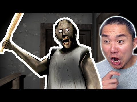 GRANNY UPDATE ON PC! SHE HAUNTS MY COMPUTER NOW! (Granny Horror PC)