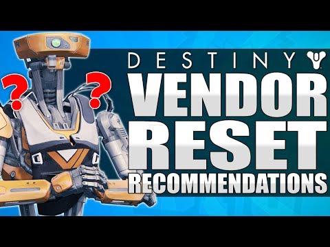 Destiny: June 27th Vendor Reset Recommendations - Amazing Weapons To Buy - Destiny - Age Of Triumph