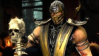 Mortal Kombat 9 прохождение на русском - часть 3:Скорпион
