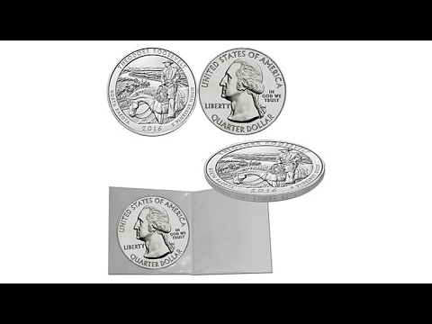 2016 5oz. Theodore Roosevelt National Park Silver Coin