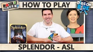 Splendor - WITH ASL - How To Play