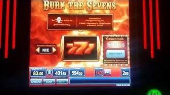 Burn the Sevens  - JACKPOT 100 CG !! || Bally Wulff || Spielhalle