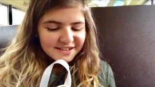 America Еду в школьном автобусе Говорю по-английски Делаю домашку дома Влог