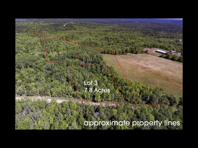 Lot 3, Trout Lake Road, New Albany, Nova Scotia