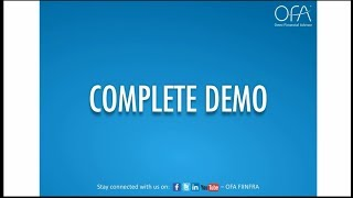 Detailed Demo video on OFA features
