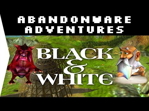 Black & White 1 HD ► God Game 2001! - Download & Gameplay On Windows 10 - [Abandonware Adventures!]
