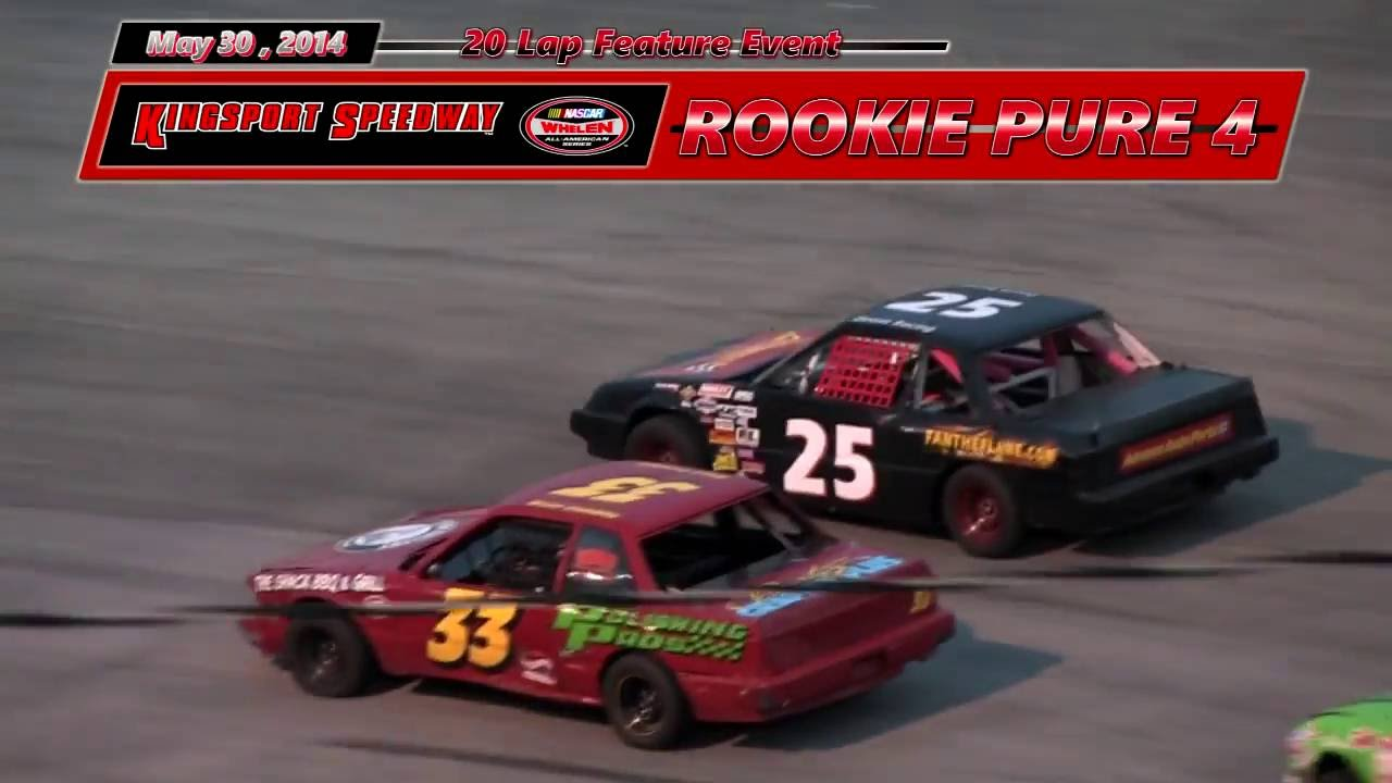 Kingsport Speedway ROOKIE pure 45 30 14