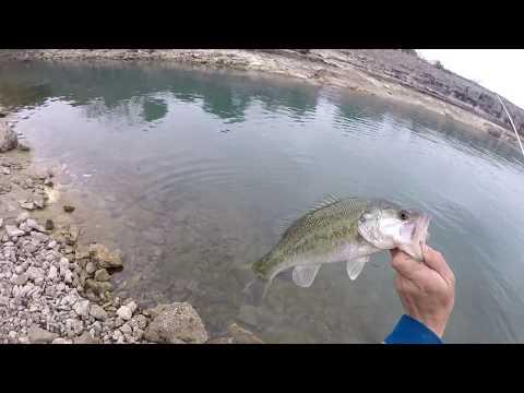 Canyon Lake Bank Fishing Fun!