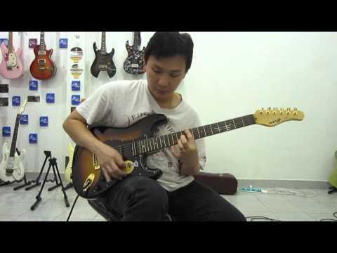 ทดลองเสียงกีตาร์ THAI CUSTOM HANDMADE GUITAR NNG TYSDY STRAT CLEAN SOUND