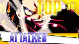 Top 10: Ruffys Attacken - One Piece
