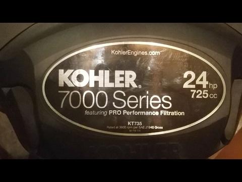 Kawasaki FR Vs  Kohler 7000