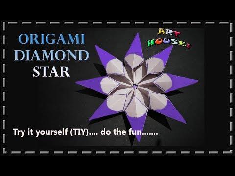 Origami Diamond Star