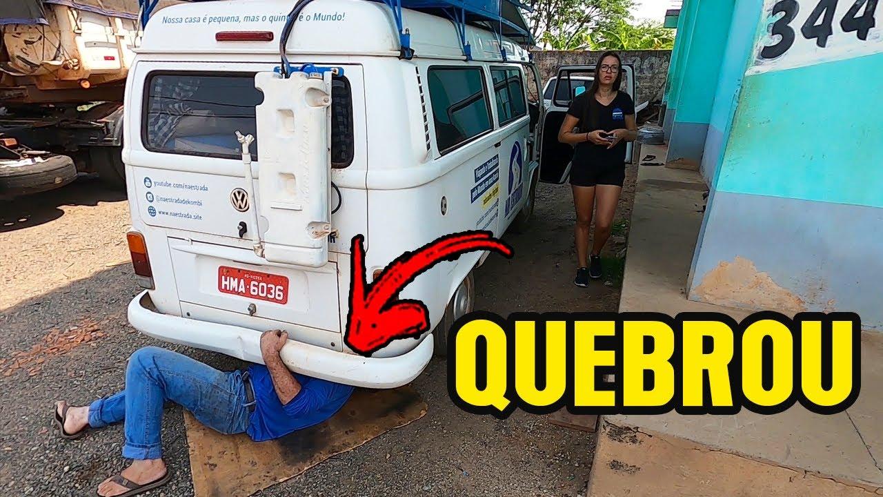 PROBLEMAS COM A KOMBI HOME CHICA! Cacoal, Rondônia