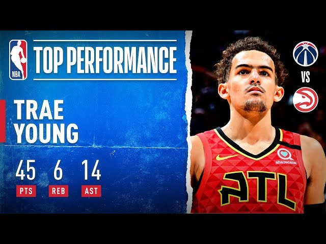 Trae Young Scores 45 PTS in Home Win