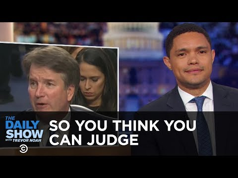 So You Think You Can Judge - A Lot of Words with Nothing Happening | The Daily Show thumbnail