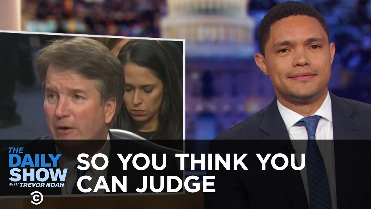 So You Think You Can Judge - A Lot of Words with Nothing Happening | The Daily Show
