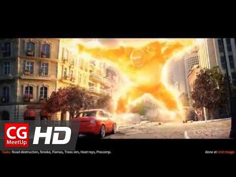 CGI Fx Breakdown HD: Michelin CrossClimate by Toufik Mekbel