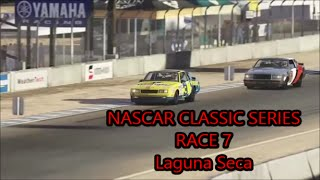 NASCAR Classic Series Race 7 Results