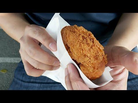 Q醬散步變成舅舅的美食時間!? 這個波蘿甜甜圈30元 好吃但太罪惡了 |乾杯小菜超日常