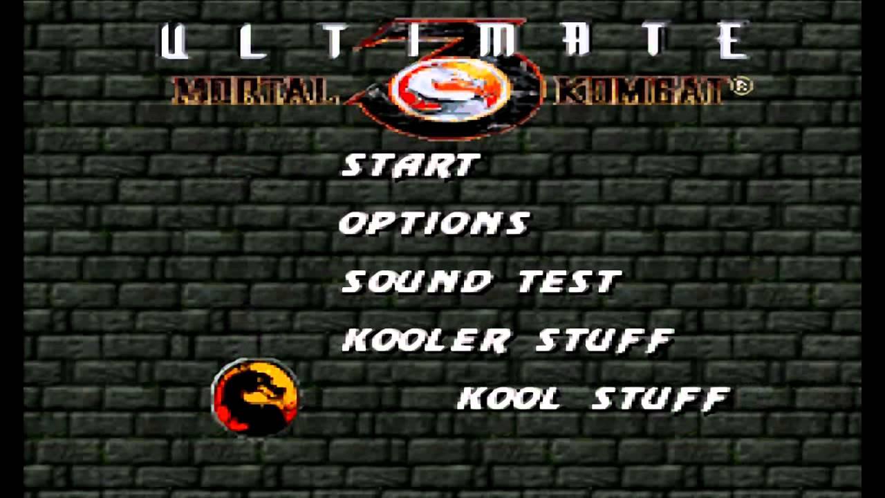 Ultimate mortal kombat 3 snes codes