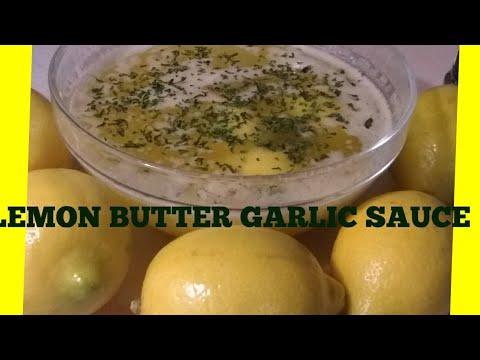 Seafood Boil Lemon Garlic Butter Sauce