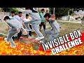 DESAFIÓ DE LA CAJA INVISIBLE | INVISIBLE BOX CHALLENGE!