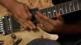 Herman Li Guitar lesson part 7 natural harmonics