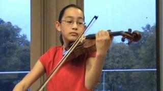 Sarah Shy, Violin, Obertass Mazurka op.15 by Wieniawski
