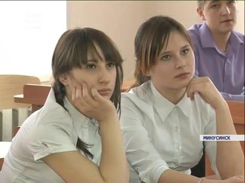 В Минусинске после ремонта открылась школа (Новости 14.01.16)